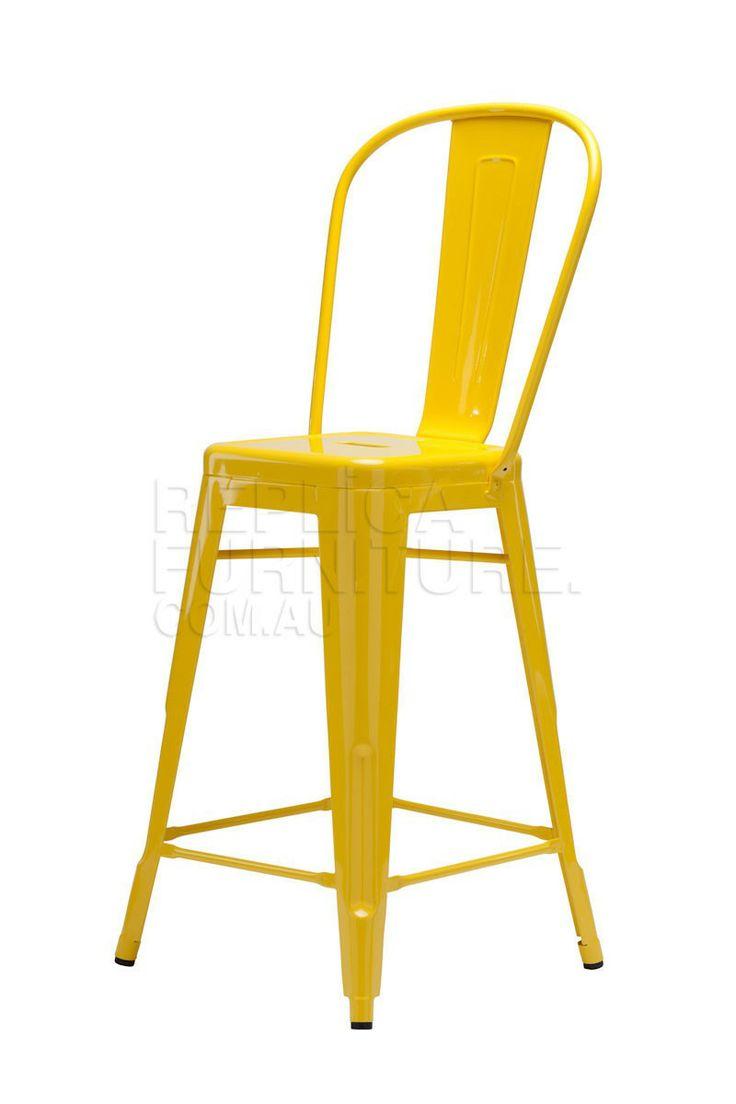 Tabouret tolix imitation maison design for Table exterieur tolix