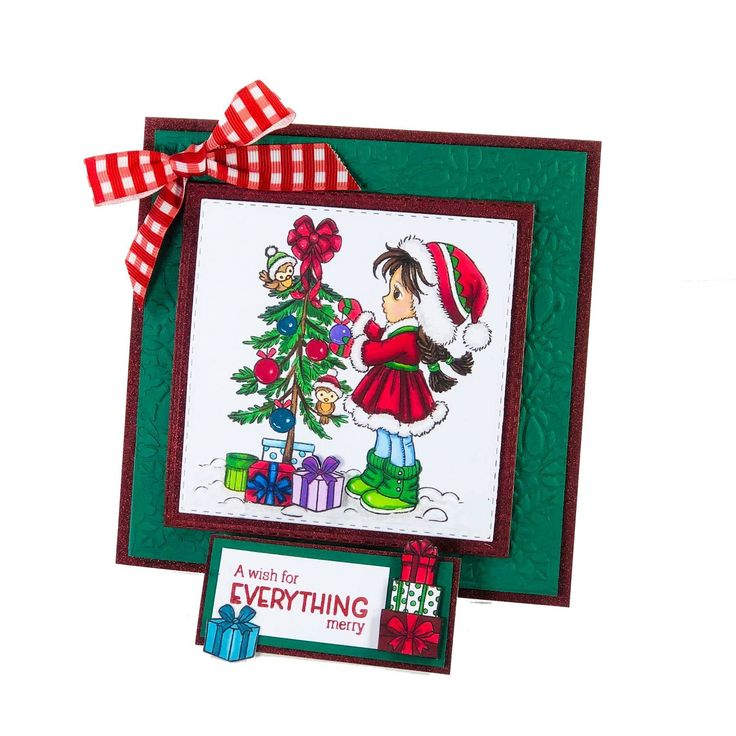 Conie Fong Christmas Stamps by Crafter's Comoanion in 2020