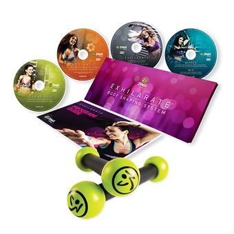 Best Fitness DVDs for Brides - Zumba Exhilarate