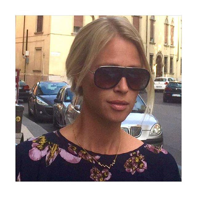 Perfection @vibekeholmgaden  #Italian #Scandinavian #perfection #Mountains #necklace #lulubadulla #designerjewelry #contemporary #jewelry #fashion #design #danishdesign #lovethestyling❤️