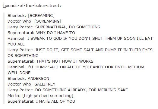 The fandoms worry about what to do with Sherlock and Doctor Who. It's not going well.: