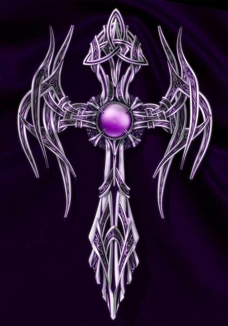 Картинки готических крестов