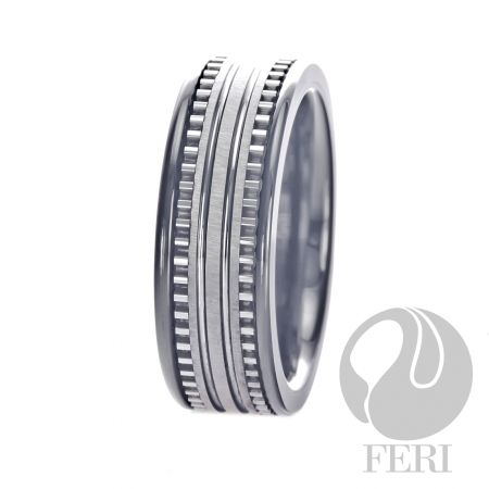 7mm FERI Plangsten Ring: FERI Plangsten line is like no other Tungsten based jewellery being offered today.