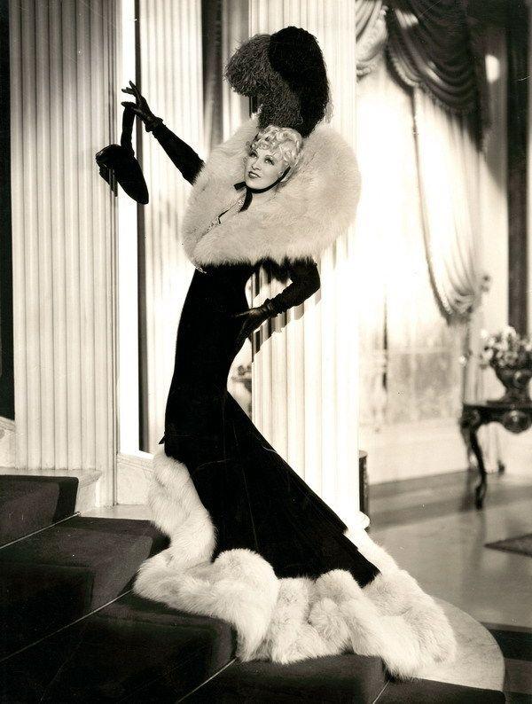 Mae West, 1937; photo by Eugene Robert Richee