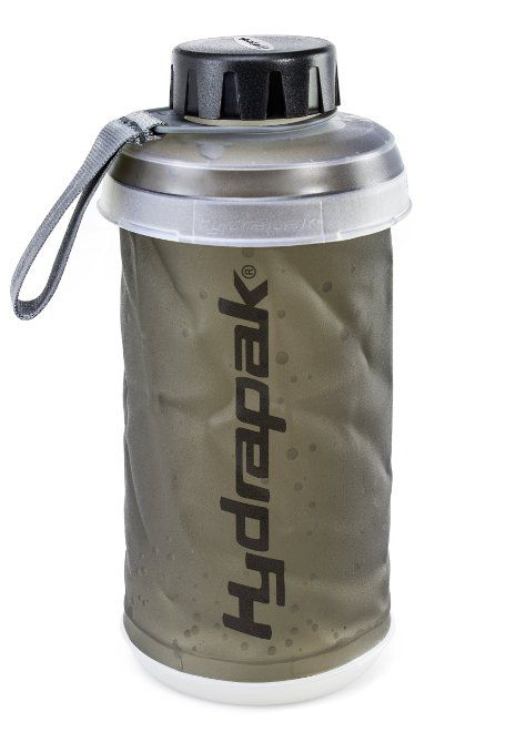 Hydrapak Stash Flask Compact Collapsible Water Bottle - 0.75 Litre