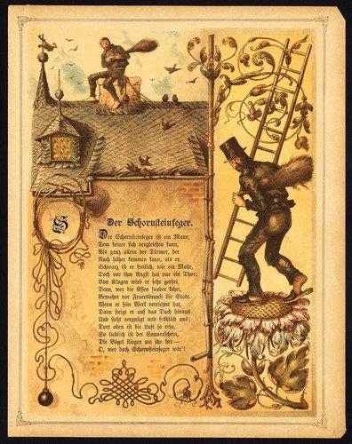 Rare Antique Profession Print-CHIMNEY SWEEP-Morlin-1892 | eBay