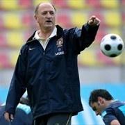 Portugal's football team coach Luiz Felipe Scolari gestures - FIFA.com