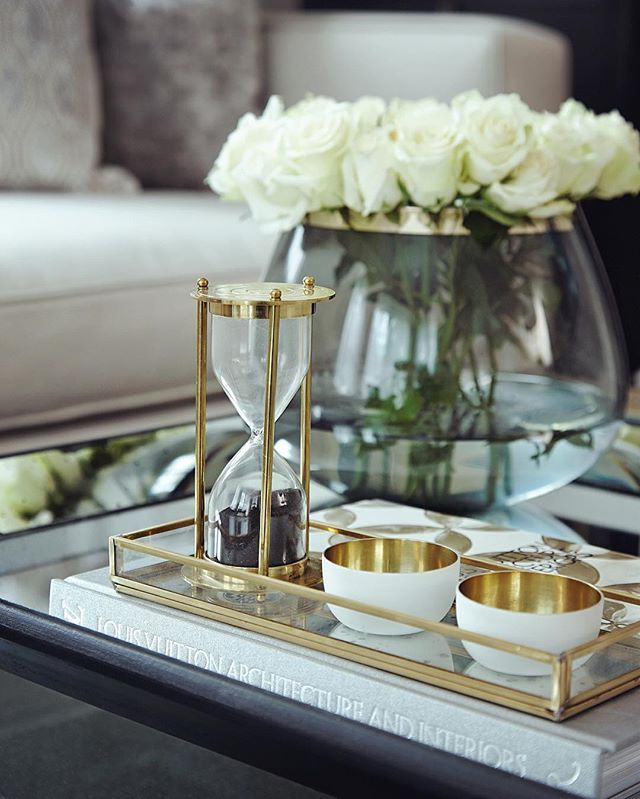 Boscolo's Tip of the Day: Never underestimate the importance of dressing your home.. It's the little details that make your place feel like home  #Boscolo #luxury #interiordesign #london #house #home #decor #accessories #details #itsallinthedetails #design #inspiration #flowers #vase #eggtimer #gold #bowls #dishes #glass #tray #coffeetable #book #weloveourjob #ateam #beinspired #happyfriday #fridaytip #toptips #designtip