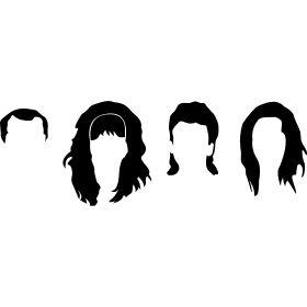 Bundy Frisuren - Die Frisuren von Al, Peggy, Bud und Kelly der Familie Bundy, aus Eine schrecklich nette Familie.