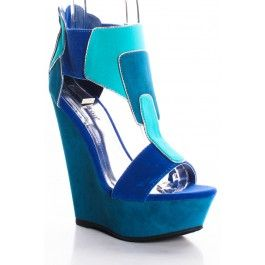 BLUE COLOR BLOCK OPEN TOE PLATFORM WEDGES,Women's Wedge Shoes For Sale,Cheap Wedge Sandals Shoes,Sneaker Wedges,Booties Wedges,Wedges Heels,Suede Wedges,Lace Up Wedges,Cutout Wedge Shoes,Platform Wedges Shoes,Cute Spike,Studded,Strappy Wedges Shoes Online http://www.planetgoldilocks.com/shoes.htm