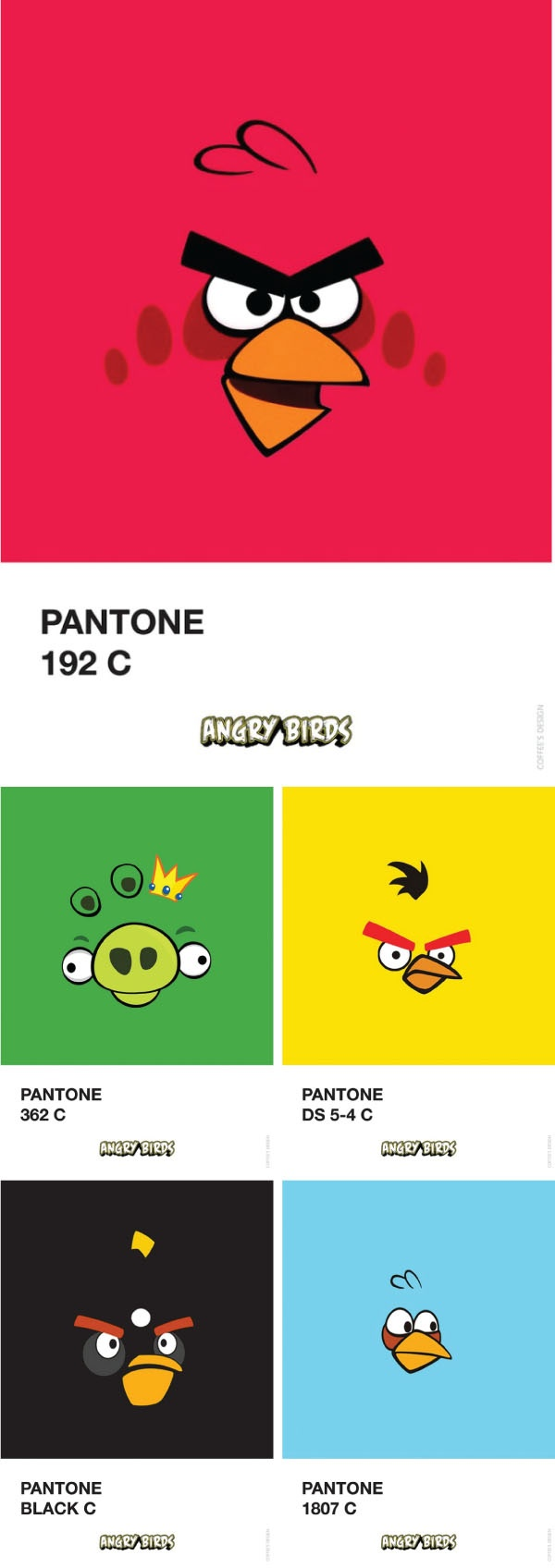 Today you can Pantoneize anything!!!!!!!!! Pantone Angry Birds