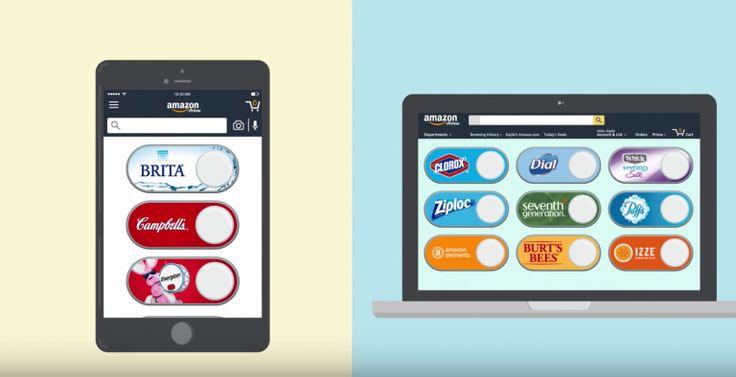 Amazonがダッシュボタンのバーチャル版をリリース、Prime会員は自由にダッシュボタンを作成可