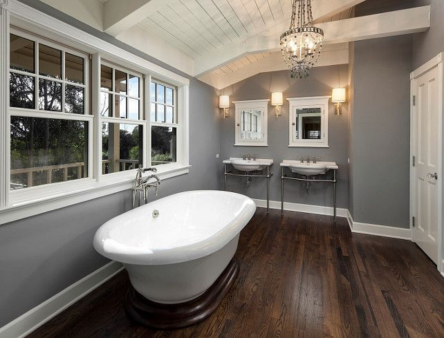 "East Coast-style Shingle Home for Sale - ""Gray Paint Color"" (Whale Gray by Benjamin Moore)"