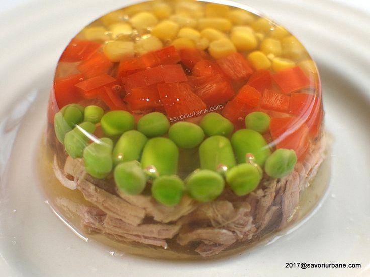 piftie decor simplu colorat legume