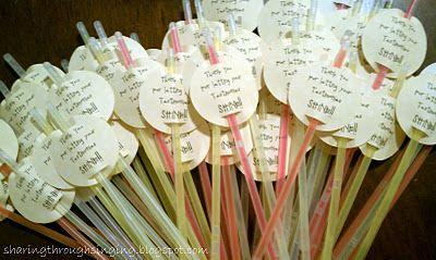 Thank you for letting your testimonies shine! (Glow sticks) I love this idea!! Encourage kids to share their testimonies!!