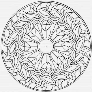 coloring pages for adults kleurplaten voor volwassenen - Intricate Mandalas Coloring Pages