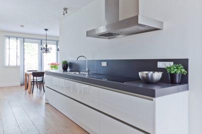 Keuken hooglans wit