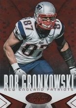 2014 Certified Camo Red #58 Rob Gronkowski - New England Patriots