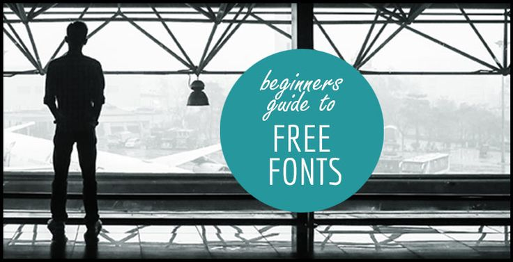 Beginners guide to free fonts