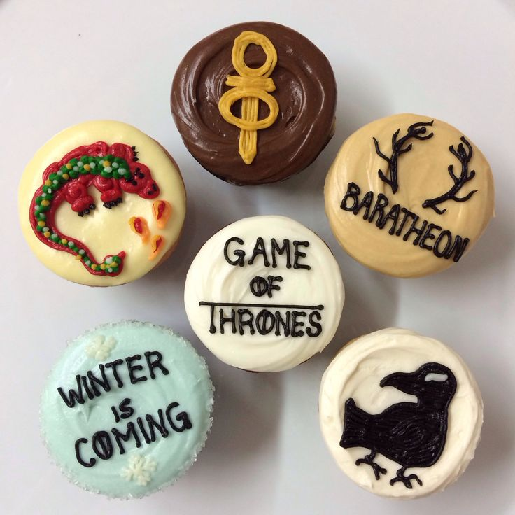 Game of Thrones cupcakes from Sibby's Cupcakery, San Mateo, CA
