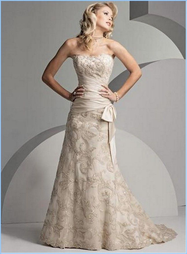 Wedding Dresses For Older Brides Second Weddings : Second marriage dress weddings and nd wedding dresses