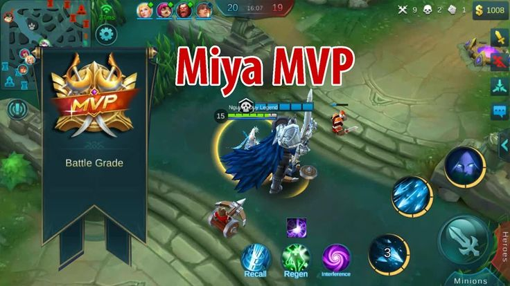 Miya Mobile Legends Gameplay | Ranked Game | Miya MVP | Nguyễn Duy Legend
