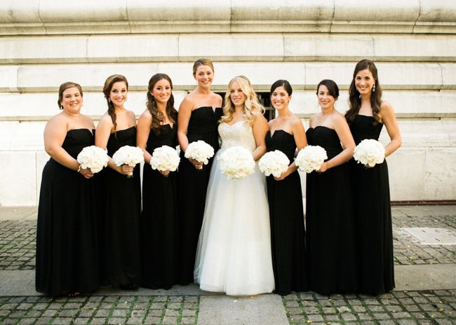 Best 25 black tie bridesmaids ideas on pinterest black tie classic new york black tie wedding junglespirit Image collections