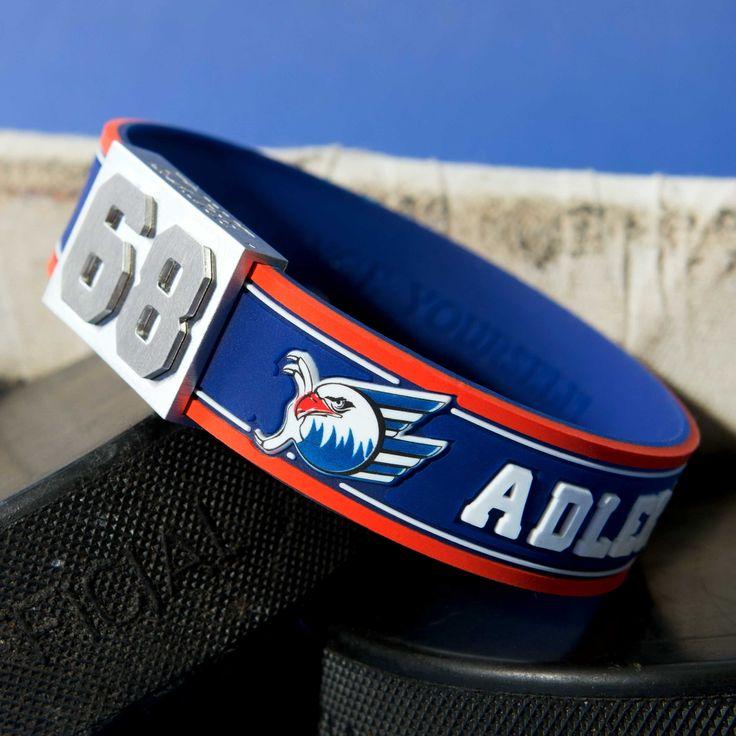 Farbe bekennen mit dem Adler Mannheim-Spielernummer-Armband von BRAYCE®! #myBRAYCE #BRAYCEyourself