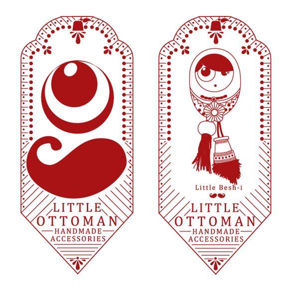 """""""LITTLE OTTOMAN"""" HANDMADE ACCESSORIES by Öznur Çakal Demirhan, via Behance"""