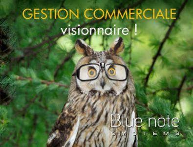 Logiciel de gestion commerciale #gescom #bluenotecrm