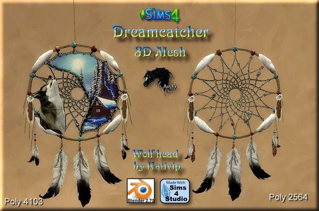 Sims 4 Cc S The Best Dreamcatcher By Asylaraber02