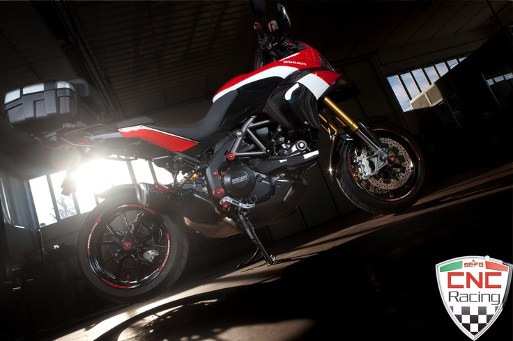 Our Ducati Multistrada 1200 with all CNC Racing special parts