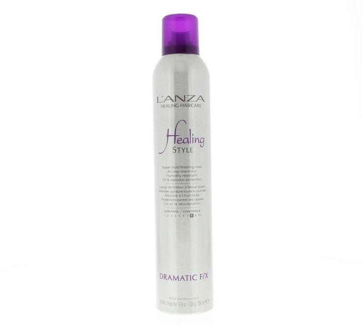 L'Anza Healing Style Dramatic F/X Spray Control 8 300ml  L'Anza Healing Style Dramatic F/X - Verstevigingsfactor 8. Super verstevigende fijn verstuivende finishspray voor een zijdezachte glans volume en houdbaarheid. Keratin Healing System: Versterkt en herstelt het haar van binnenuit en maakt het beter modelleerbaar. Voor gezonder haar een eenvoudigere styling en een langere houdbaarheid. Kleurbescherming: Verzegelt de haarkleur en voorkomt verbleken. De kleur blijft langer diep en…