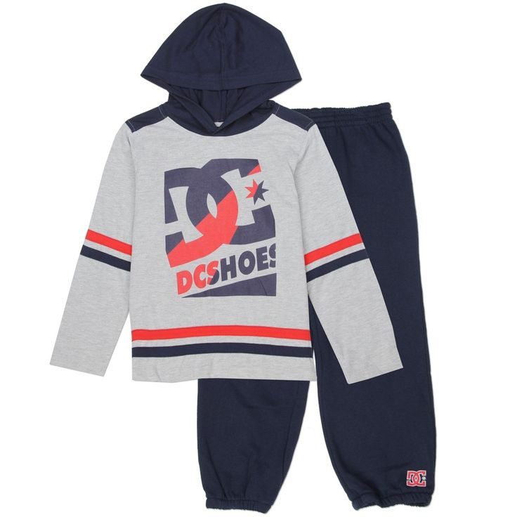 Sizes 2T 3T 4T Made From 60% Cotton 40% Polyester Label DC Shoe Company Officially Licensed DC Shoe Co Apparel