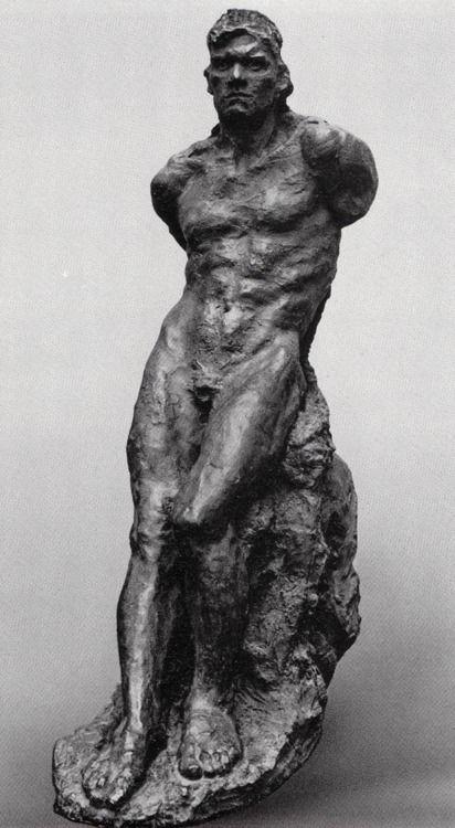 mrsramseysshawl:    Anna Golubkina (1864-1927), Seated man, 1912. A crater on Venus is named after her.