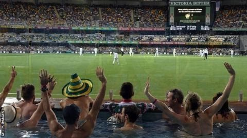 Fans  watch the day-night Test between Australia and Pakistan in Brisbane in  December 2016 - Edgbaston will have a beach though no pool  First Investec Test: England v West Indies  Venue: Edgbaston Dates: 17-21 August Start: 14:00 BST  Coverage:  Ball-by-ball Test Match Special commentary on BBC Radio 5 live sports  extra BBC Radio 4 LW & online; in-play highlights & live text  commentary on BBC Sport website & app  English  cricket takes a step into the dark on Thursday with the first…