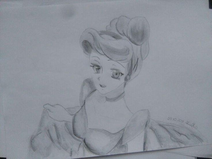 #anime #cinderella #myart #draw