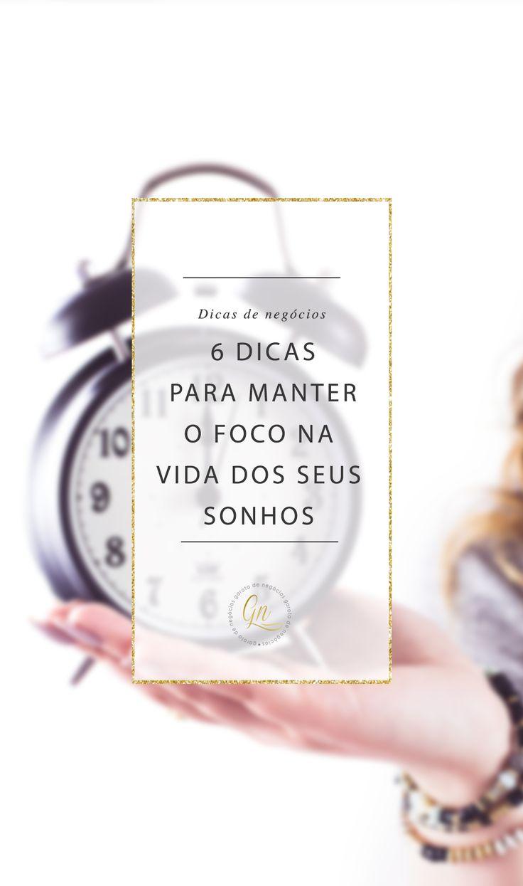 """Uma das coisas mais importantes para a nossa vida, se resume em uma pequena palavra de 4 letras, """"FOCO"""". Quando você sabe o que..."""