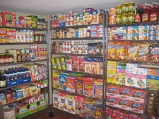 The Magic of Coupons: I'm afraid my stockpile will resemble this in the near future!=I have given over 3/4 of what I have bought away, or this would be mine!