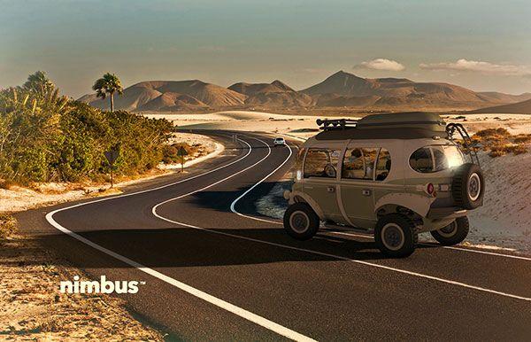 Nimbus - Concept e-Car by Eduardo Galvani