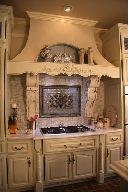 Tuscan Kitchens Country Kitchens Kitchen Hoods Backsplash Ideas