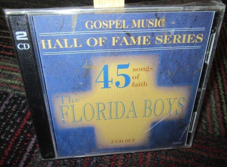 NEW THE FLORIDA BOYS: GOSPEL MUSIC HALL OF FAME SERIES 2-DISC CD SET, 45 SONGS
