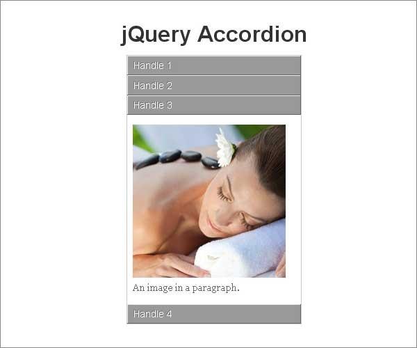 jQuery Accordion Slider and Menu Plugins
