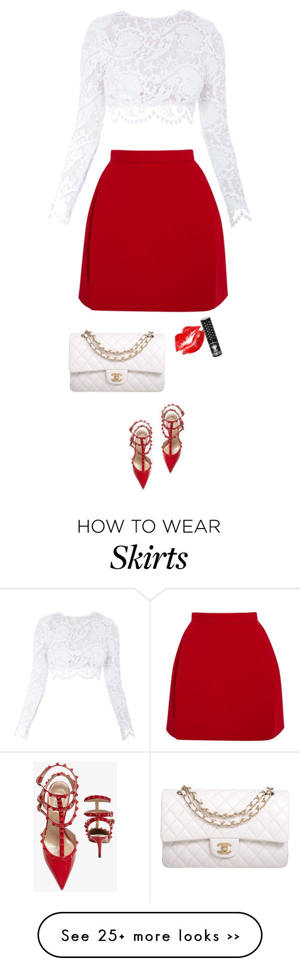 """red valentino"" by ecem1 on Polyvore"