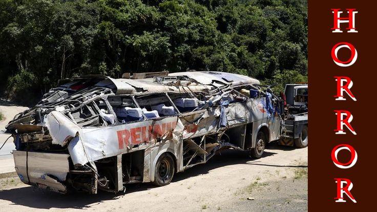 Ônibus que saiu de Passo Fundo cai em ribanceira e deixa nove mortos em ...
