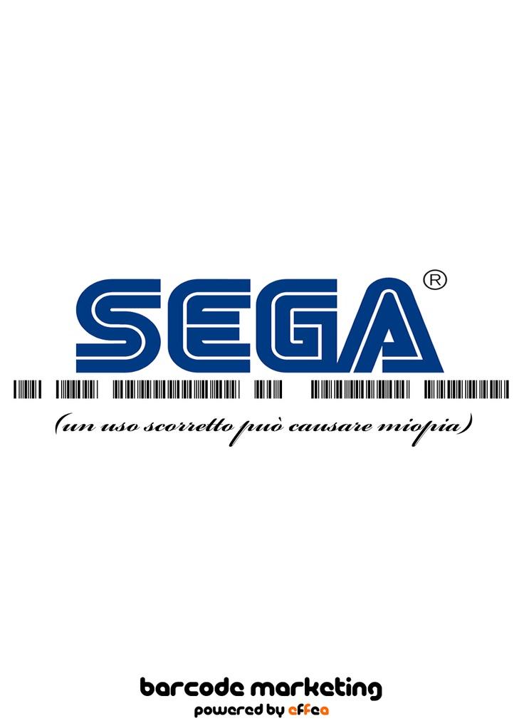 """Barcode Sega """"Un uso scorretto può causare miopia"""""""