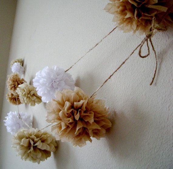 Hey, I found this really awesome Etsy listing at http://www.etsy.com/listing/77387297/beach-house-diy-tissue-paper-pom-garland