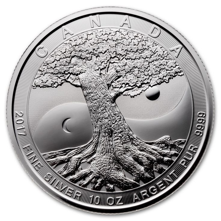 2017 Royal Canadian Mint Silver Tree of Life 10 oz