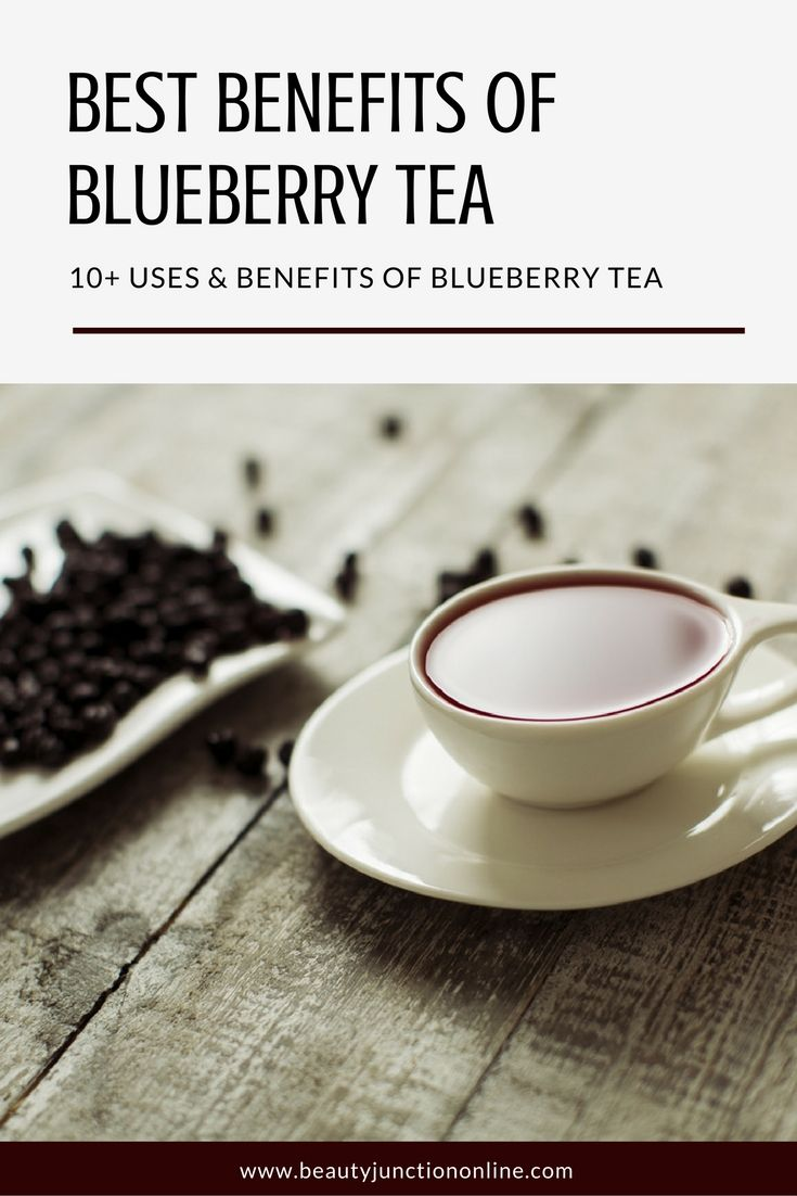 Discover the best benefits of blueberry tea