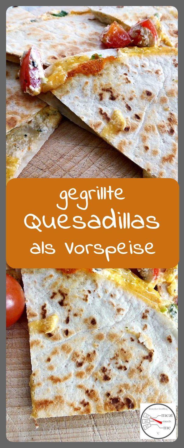 Quesadillas gegrillt - Geniale BBQ Vorspeise Meine Lieblingsvorspeise für den gelungenen Grillabend Eine Vorspeise auf dem Grill zuzubereiten ist oftmals nicht immer ganz einfach, da nicht jede...